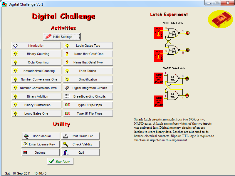 Click to view Digital Challenge 5.1 screenshot